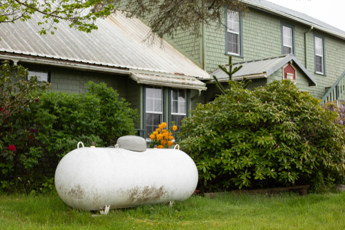buy propane powered home